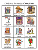 Christmas in Mexico BINGO (words on cards) + 12 bonus page