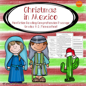 Christmas in Mexico: Non-fiction Reading Comprehension Pas