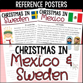 Christmas in Sweden and Christmas in Mexico: St. Lucia's D