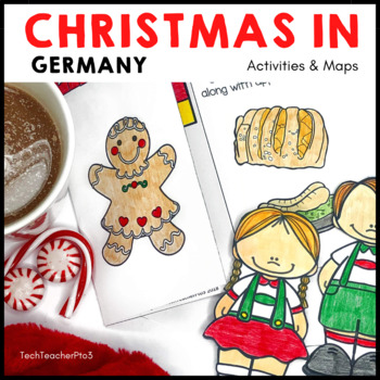 Christmas Around the World ** Germany ** Map, Recipe & Rea