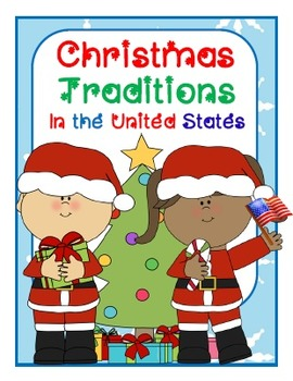 Christmas in the USA {Student Booklet & Signs} K/1st/2nd