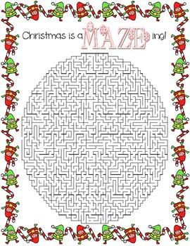 Christmas is aMAZEing! ~ Christmas Maze