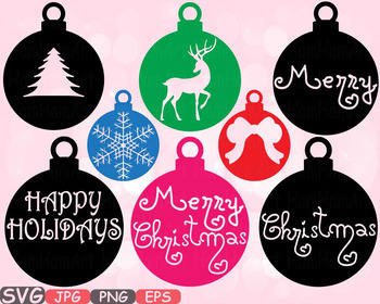 Christmas tree Ornament Happy Holidays clipart snowflake r
