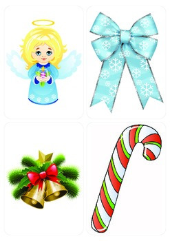 Christmas vocabulary flashcards