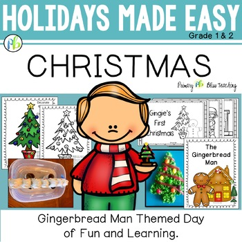 Christmas with The Gingerbread Man - Holidays Made Easy (F