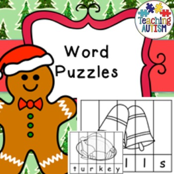 Chistmas Word Puzzles