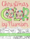 Christmas/Winter Color By Number: Make Multiplication FUN