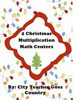 Christmas Multiplication Centers (2 centers)