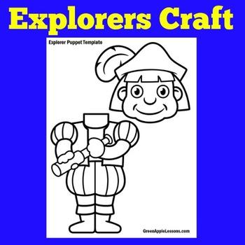 Christopher Columbus Activity | Columbus Craft | Columbus