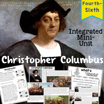 Christopher Columbus Close Read and Interactive Drama Grades 4-6