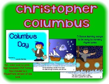 Christopher Columbus Day Book and PowerPoint Presentation