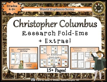 Christopher Columbus Day Fold-Ems and Graphic Organizers