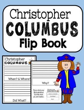 Christopher Columbus Flip Book