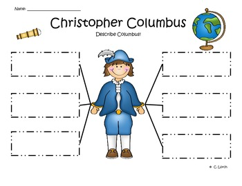 Christopher Columbus Graphic Organizer Pack