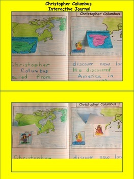 Christopher Columbus Interactive Journal