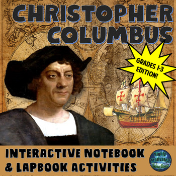 Christopher Columbus Interactive Notebook Activities Grade