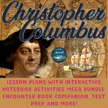 Christopher Columbus Lesson Plans with Interactive Noteboo