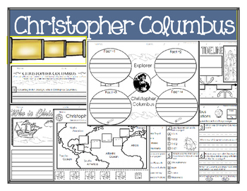 Christopher Columbus Mini-Lesson & Foldable
