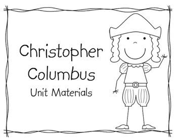 Christopher Columbus Unit Materials