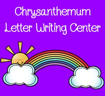Chrysanthemeum Letter Writing Center