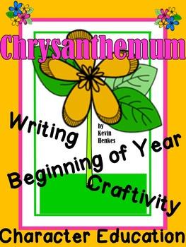 Chrysanthemum- A Beginning of the Year Kindness Craftivity
