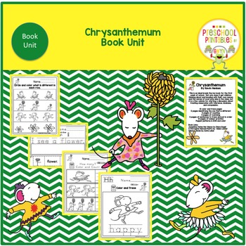 Chrysanthemum Book Unit