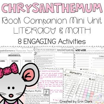 Chrysanthemum Curricular Companions {Language Arts & Math