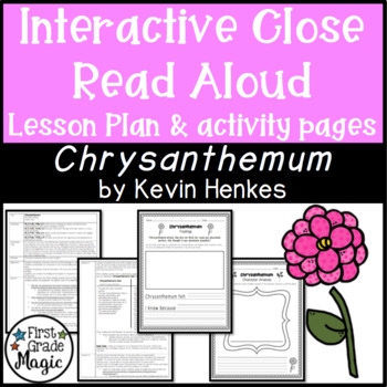 Chrysanthemum Interactive Repeated Close Read Aloud Lesson