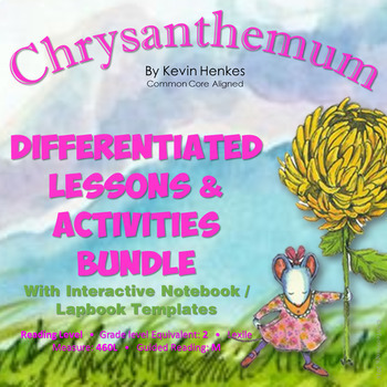 Chrysanthemum Reading Lessons & Activities with Interactiv