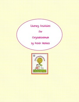 Chrysanthemum Literacy Activities second grade