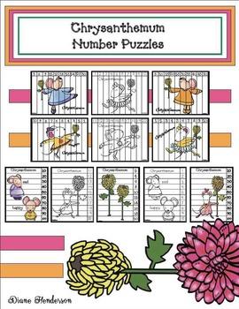 Chrysanthemum Number Puzzles