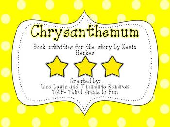 Chrysanthemum {a unit for the story by Kevin Henkes}