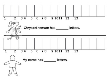 Chrysanthemum letter count