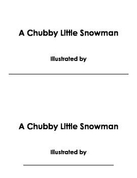 Chubby Little Snowman Book