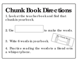Chunk Book for Centers