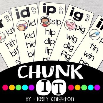 Chunk It: Short Vowel CVC Word Families