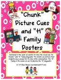 """Chunk Picture Cues and """"H"""" Family Posters"""