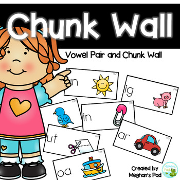 Chunk and Vowel Pair Wall Cards