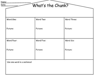 """Chunks of the House"""