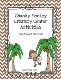 Chunky Monkey Literacy Center Activities for Short Vowels