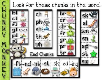 Chunky Monkey Reading Anchor Chart