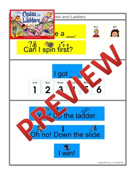 Chutes and Ladders [speech therapy and autism]