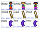 Chutes and Ladders- Inflectional Endings