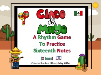 Cinco De Mayo - A Rhythm Game for Practicing Sixteenth Not
