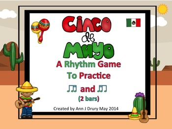 Cinco De Mayo - A Rhythm Game for Practicing Ti-Ti-ka and