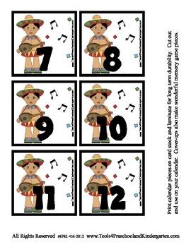 Cinco De Mayo Calendar Pieces May 5th Celebration - Memory
