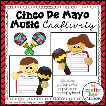 Cinco De Mayo Music Craftivity