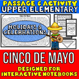 Cinco De Mayo: Passage and Questions: Interactive Notebook