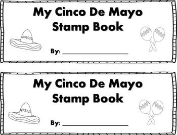 Cinco De Mayo Words Stamp Book {FREEBIE}