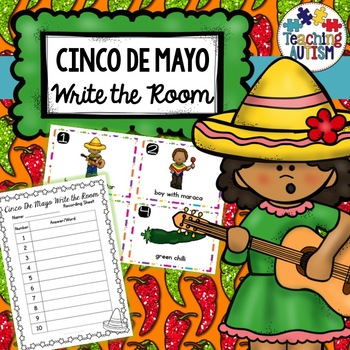 Cinco De Mayo Write the Room